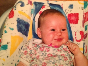 This photo of me was taken between late 1995 and early 1996, shortly before my parents discovered I was deaf.